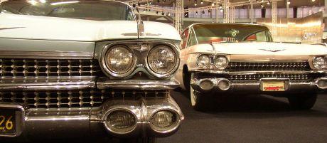 1959 Cadillac na brněnském Autosalonu