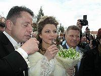 Svatba Petra Muka