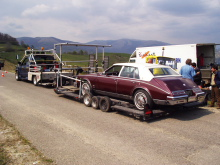 Cadillac v Rumunsku