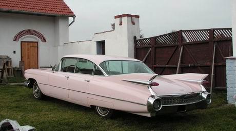 1959 Cadillac DeVille - zadek