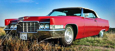 1969 Cadillac de Ville Convertible