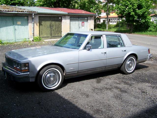 1977 Cadillac Seville - Cadillac klub CR