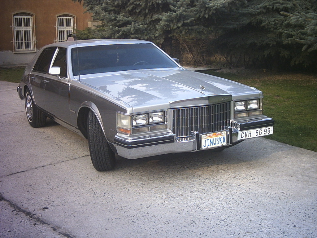 Seville on 1982 Cadillac Sedan Deville