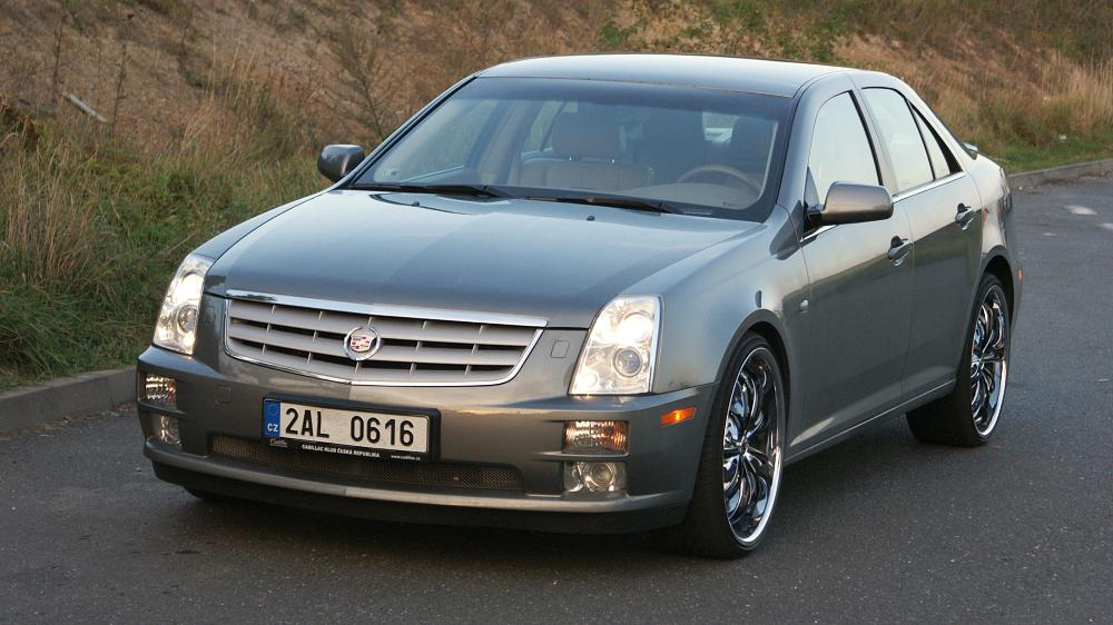 cadillac sts v6 review the truth about cars autos post. Black Bedroom Furniture Sets. Home Design Ideas