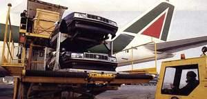 Letecký převoz karoserií