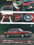 1985 Cadillac Cimarron - reklama