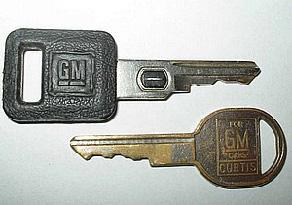 dva univerzální klíče GM